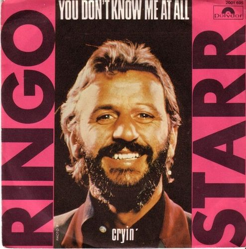 VINYL45T ringo starr you don't know me at all 1976