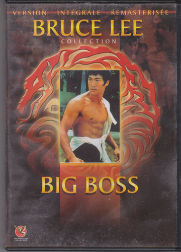 DVD bruce lee big boss 1971