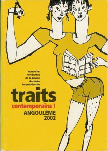 LIVRE traits contemporains angouléme 2002