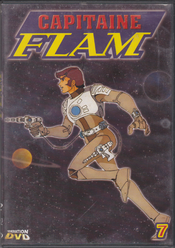 DVD capitaine flam vol 7 1978