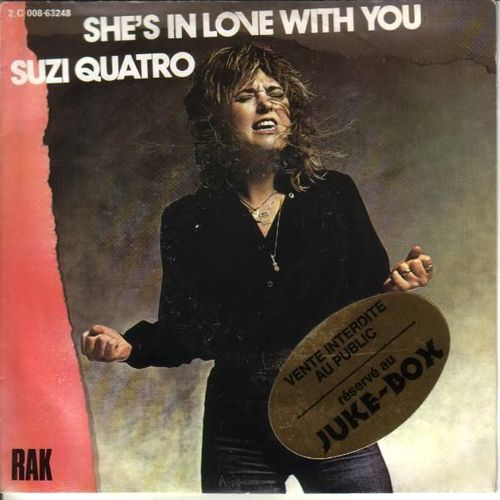 VINYL 45 T suzi quatro she s in love with you 1980
