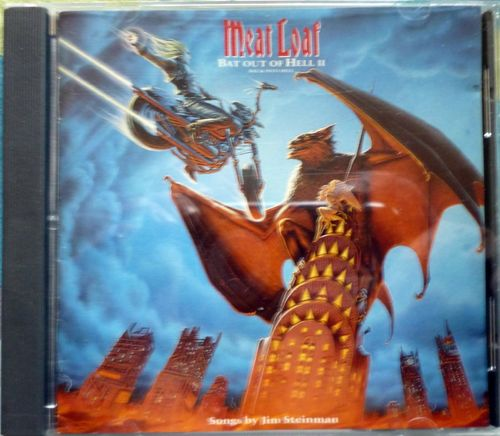 CD meat loaf bat out of hell II 1993
