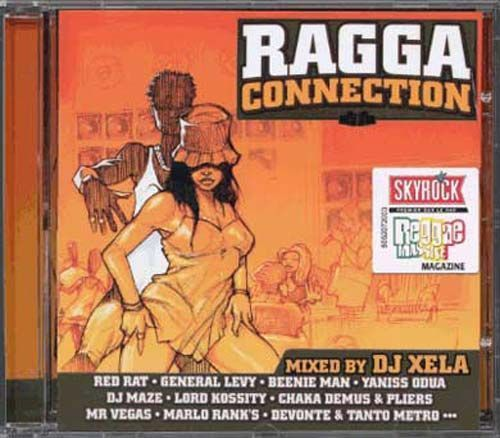 CD ragga connection 1 dj xela 2002