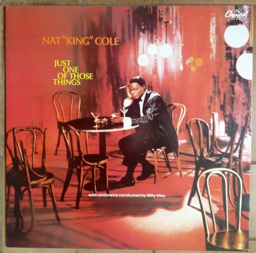 VINYL 33 T nat king cole just one of those things 1957