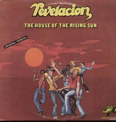 VINYL 33 T revelacion the house of the rising sun 1977