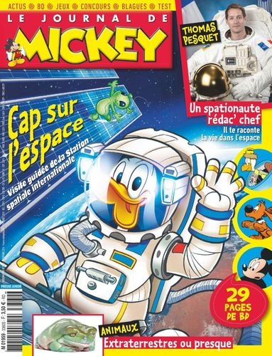 BD le journal de Mickey n 3360-2016