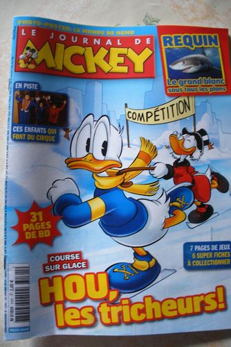 BD le journal de Mickey n 3161-2016