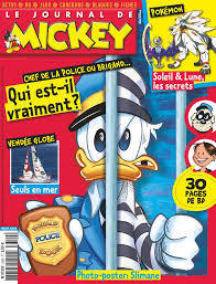 BD le journal de Mickey n 3359-2016