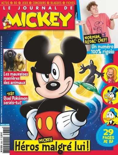 BD le journal de Mickey n 3362-2016