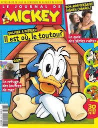 BD le journal de Mickey n 3370-2017