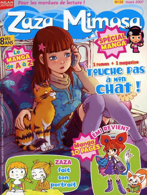 Livre Revue Zaza Mimosa Special Manga N 26 2007