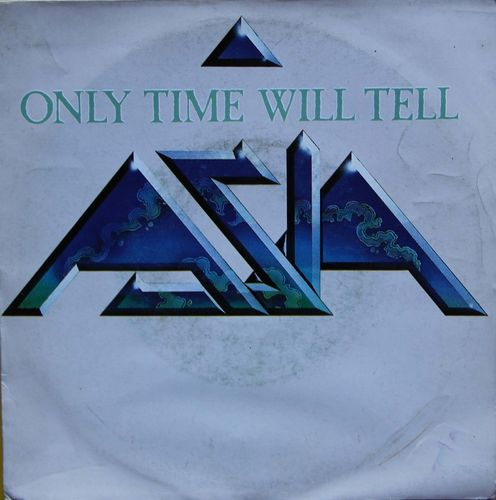 VINYL45T ASIA only time will tell 1982