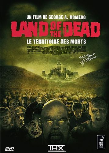 DVD land of the dead le territoire des morts 2005