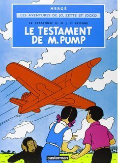 BD herge jo zette et jocko le testament de mr pump vol 1 1966