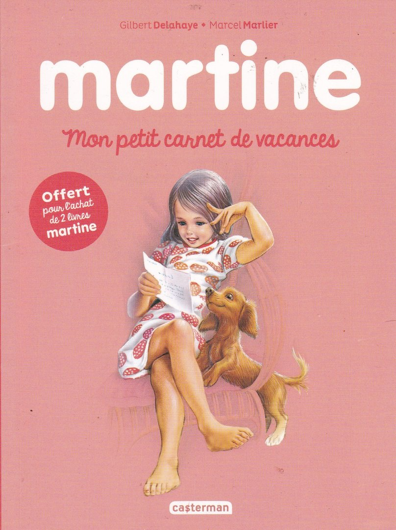 Livre Marcel Marlier Martine Mon Petit Carnet De Vacances 2016