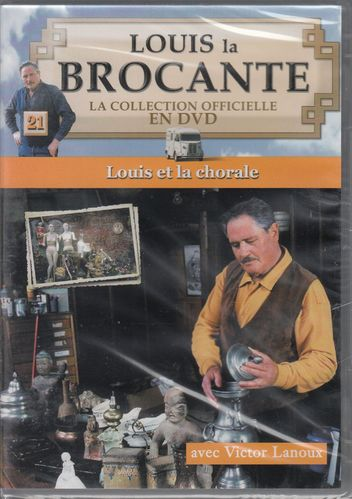 DVD louis la brocante -victor lanoux- VOL21 -2006