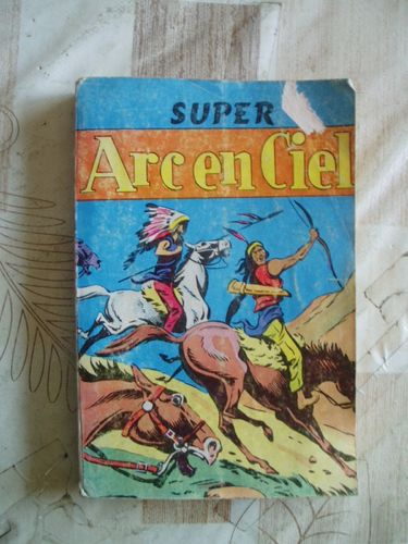 BD super arc en ciel  editions de l'occident 1958