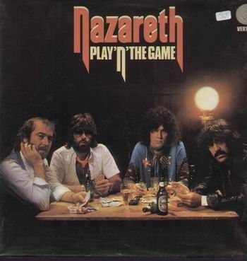 VINYL 33 T nazareth play'n'the game  1976
