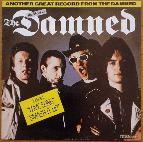 VINYL 33 T the damned the best of 1981