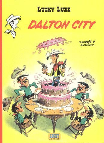 BD Lucky Luke dalton city  2000
