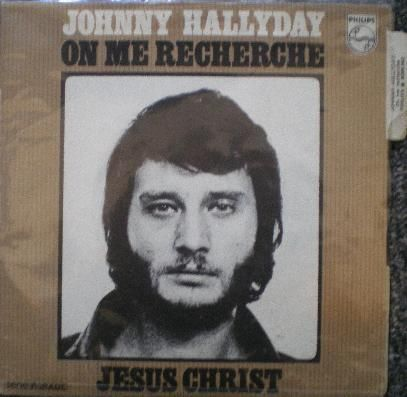 VINYL45 T Johnny Hallyday on me recherche 1970