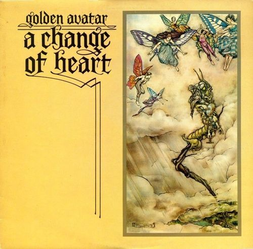 VINYL 33 T  golden avatar a change of heart 1976 (angland)