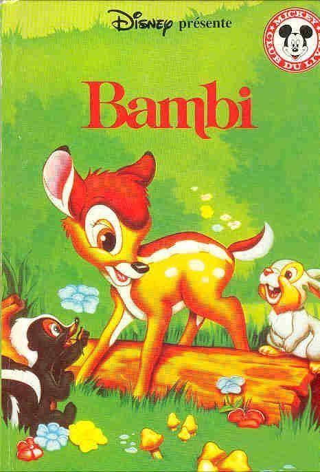 Livre Walt Disney Bambi Club Du Livre Mickey 1998