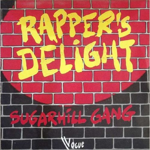 VINYL 45T sugarhill gang rapper's delight 1979