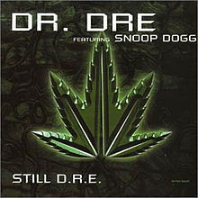 CD DR.Dre featuring snoop dogg still D.R.E 2000 rare