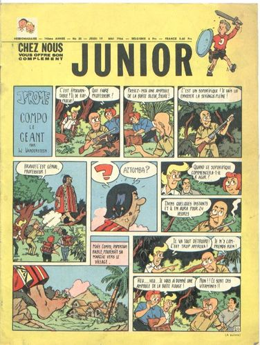 BD junior  N°20 -1966