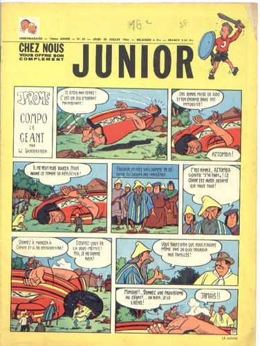 BD junior  N°30 -1966