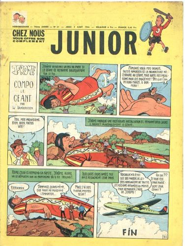 BD junior  N°31 -1966