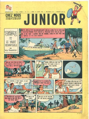 BD junior  N°32 -1966