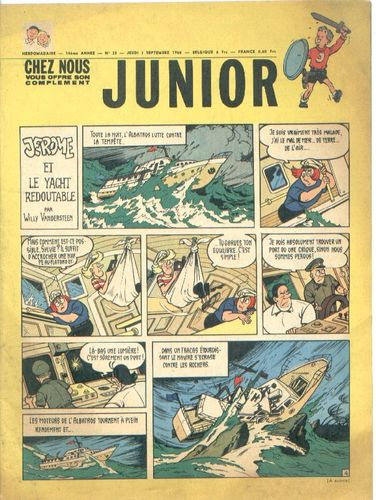 BD junior  N°35 -1966