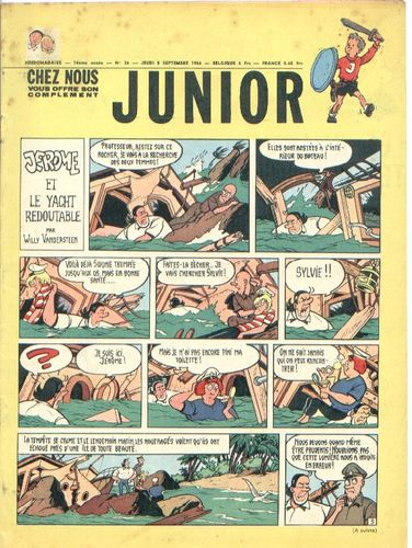 BD junior  N°36 -1966