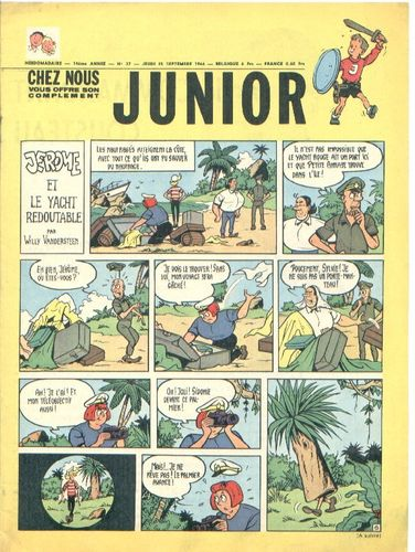 BD junior  N°37 -1966