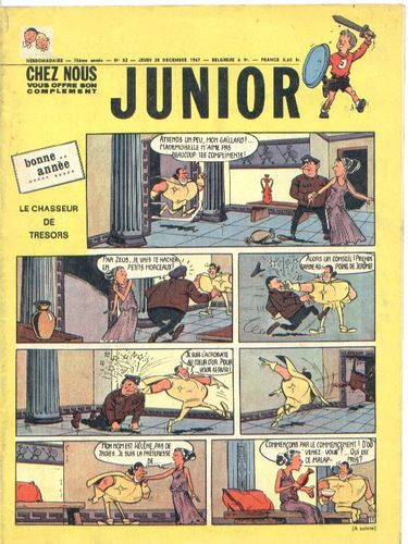 BD junior  N°52 -1967