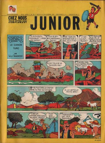 BD junior  N°48 -1968
