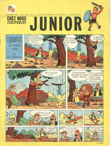 BD junior  N°49 -1968