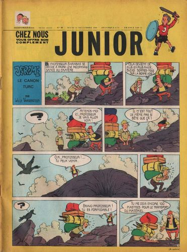 BD junior  N°50 -1968