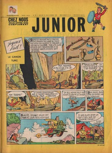 BD junior  N°51 -1968