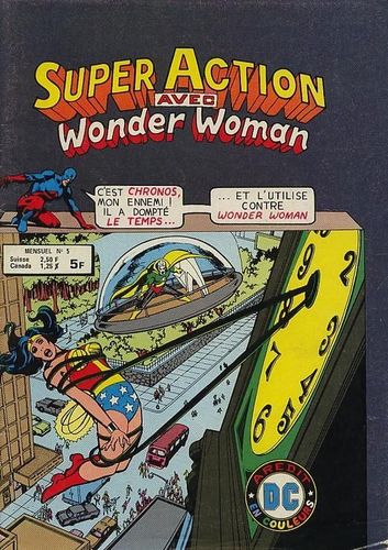 BD super action avec wonder woman N°1-1979