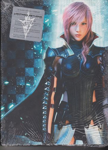 LIVRE le guide officiel complet final fantasy XIII Lightning returns editions collector 2014