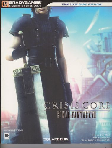 LIVRE le guide officiel final fantasy VII/7 crisis core 2008