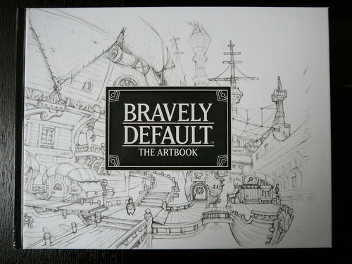 LIVRE Bravely default the artbook nintendo 2013
