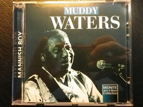 CD muddy waters midnite jazz and blues collection  2000