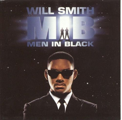 CD will smith men in black  1997