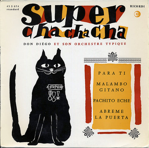 VINYL 45T don diego super chacha cha 1960