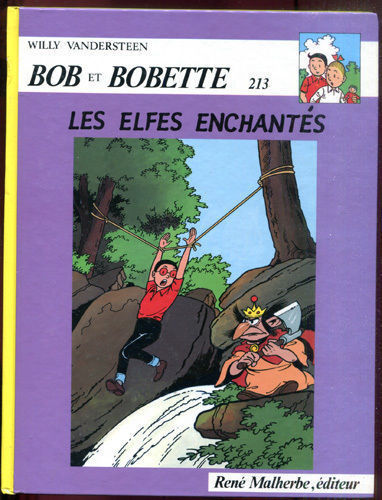 BD bob et bobette 213 willy vandersteen 1987