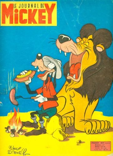 BD Le journal de mickey N°388-1959